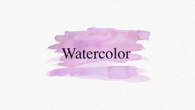 watercolor slideshow maker