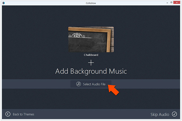 choose video music background