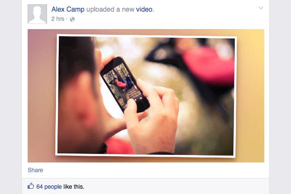 share video from photos