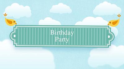 kostenlose Geburtstags diashow
