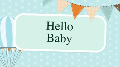 baby free slideshow